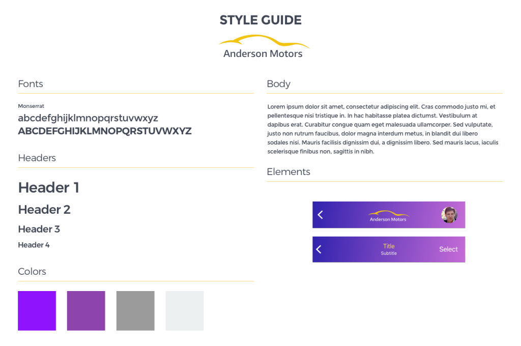 Style Guide 2